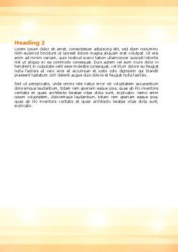 Boring Movie Word Template, Second Inner Page, 06420, Consulting — PoweredTemplate.com