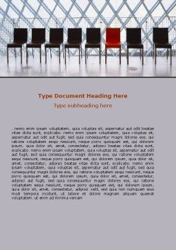 Individual Place Word Template, Cover Page, 06442, Consulting — PoweredTemplate.com