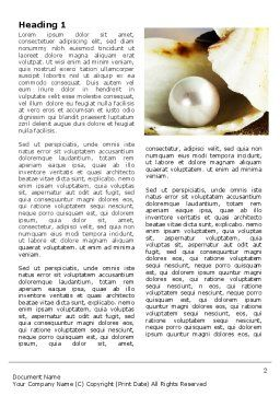 Pearl Shell Word Template First Inner Page