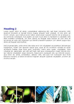 Building Inner Planning Word Template, Second Inner Page, 06451, Construction — PoweredTemplate.com