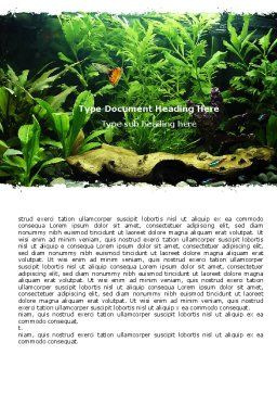 Aquarium Fish Species Word Template, Cover Page, 06452, Nature & Environment — PoweredTemplate.com