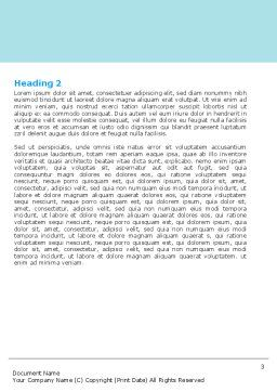 Dental Surgery Word Template, Second Inner Page, 06457, Medical — PoweredTemplate.com