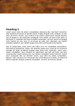 Stab In The Back Word Template, Second Inner Page, 06463, Consulting — PoweredTemplate.com