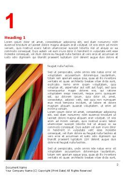 Cables Word Template First Inner Page