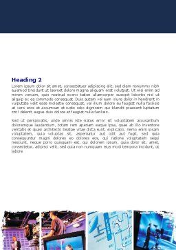 Television Word Template Second Inner Page