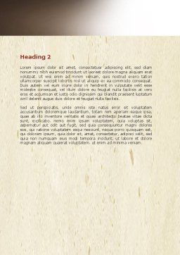 Hacking Word Template, Second Inner Page, 06485, Legal — PoweredTemplate.com