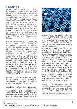 Membrane Word Template, First Inner Page, 06548, Consulting — PoweredTemplate.com