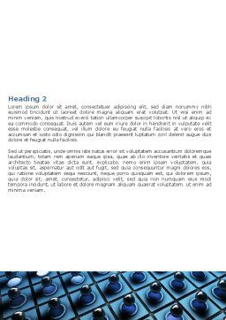 Membrane Word Template, Second Inner Page, 06548, Consulting — PoweredTemplate.com