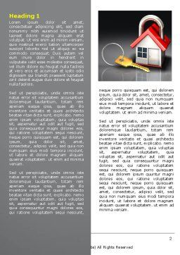 Turnkey House Word Template First Inner Page