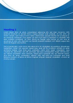Business Deal And Agreement Word Template, Second Inner Page, 06596, Business — PoweredTemplate.com