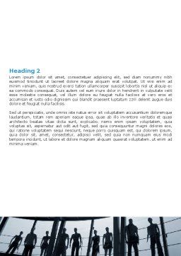 Free Standing Manikins Word Template, Second Inner Page, 06614, Business — PoweredTemplate.com