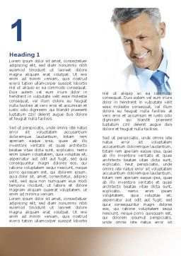 Doctor Smile Word Template, First Inner Page, 06623, People — PoweredTemplate.com