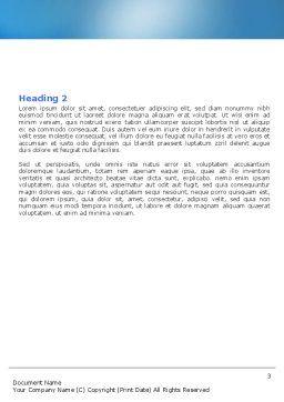 Blank Jigsaw Word Template, Second Inner Page, 06631, 3D — PoweredTemplate.com