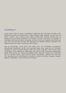 Ultrasound Examination Word Template, Second Inner Page, 06635, Medical — PoweredTemplate.com