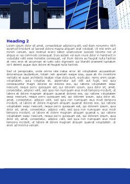 Civil Engineering Word Template, Second Inner Page, 06663, Construction — PoweredTemplate.com