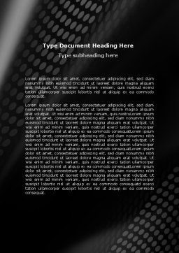 Tire Theme Word Template, Cover Page, 06752, Technology, Science & Computers — PoweredTemplate.com