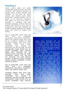 Snowboarding Tricks Word Template, First Inner Page, 06770, Sports — PoweredTemplate.com