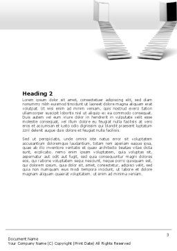Alternatives Word Template, Second Inner Page, 06773, Consulting — PoweredTemplate.com