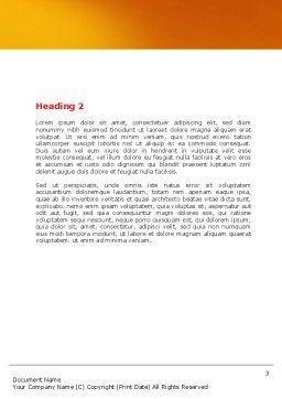Loving School Word Template, Second Inner Page, 06818, Education & Training — PoweredTemplate.com