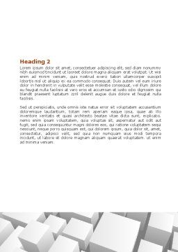 Variability Word Template, Second Inner Page, 06876, Business Concepts — PoweredTemplate.com