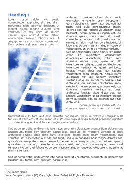 Ladder to Heaven Word Template, First Inner Page, 06887, Careers/Industry — PoweredTemplate.com