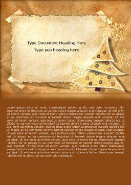 New Year Theme Word Template, Cover Page, 06894, Holiday/Special Occasion — PoweredTemplate.com
