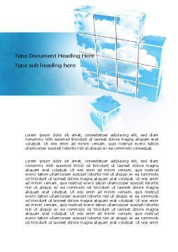 Restoring Sky Word Template, Cover Page, 06898, Nature & Environment — PoweredTemplate.com