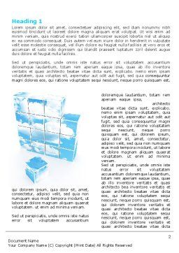 Restoring Sky Word Template First Inner Page