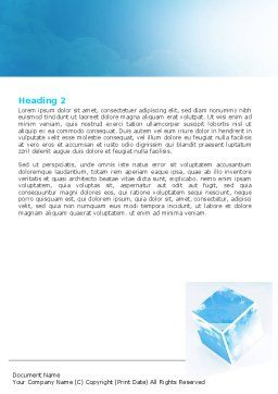 Restoring Sky Word Template, Second Inner Page, 06898, Nature & Environment — PoweredTemplate.com
