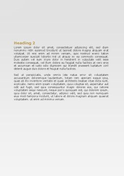 Slipping Man Word Template, Second Inner Page, 06946, Consulting — PoweredTemplate.com
