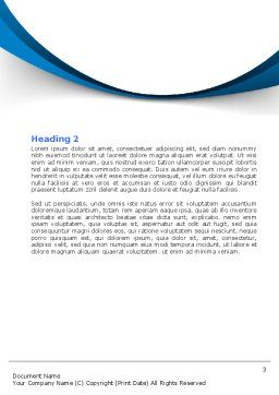 Coaching Word Template, Second Inner Page, 06953, Consulting — PoweredTemplate.com
