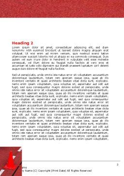 Athletic Competition Word Template, Second Inner Page, 06954, Sports — PoweredTemplate.com