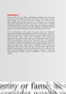 Focus on Knowledge Word Template Second Inner Page
