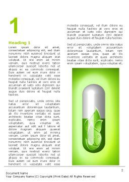 Homoeopathy Word Template First Inner Page