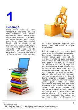 Computer Training Word Template First Inner Page