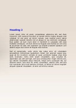 Computer Training Word Template Second Inner Page