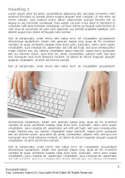 Laptop User Word Template, First Inner Page, 07001, Technology, Science & Computers — PoweredTemplate.com
