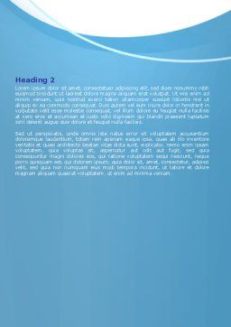 Creating an Idea Word Template, Second Inner Page, 07009, Consulting — PoweredTemplate.com