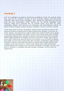 Office Stuff Word Template, Second Inner Page, 07010, Business — PoweredTemplate.com
