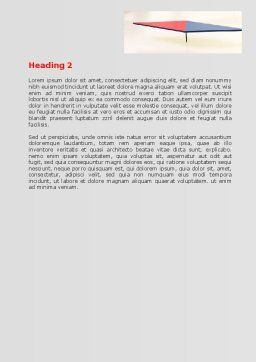 Use It Word Template, Second Inner Page, 07096, Consulting — PoweredTemplate.com