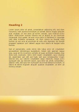 Heavy Burden Word Template, Second Inner Page, 07130, Consulting — PoweredTemplate.com