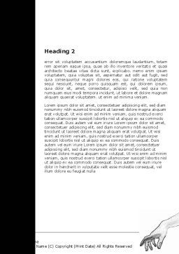 Act Of The Creation Word Template, Second Inner Page, 07147, Consulting — PoweredTemplate.com