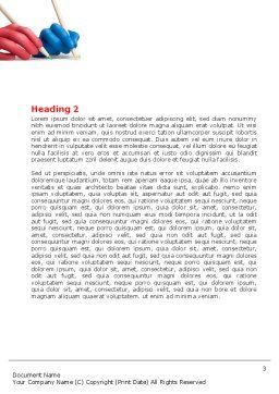 All People Writing Word Template, Second Inner Page, 07148, Religious/Spiritual — PoweredTemplate.com