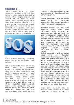 SOS Word Template, First Inner Page, 07150, Consulting — PoweredTemplate.com