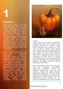 Pumpkin Carriage Word Template First Inner Page
