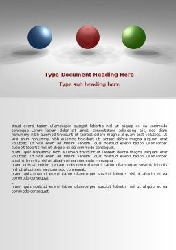 RGB Color Model Word Template, Cover Page, 07214, Consulting — PoweredTemplate.com