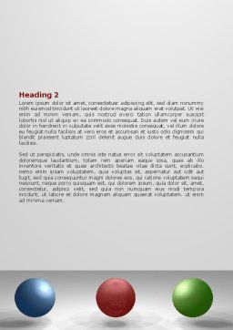 RGB Color Model Word Template, Second Inner Page, 07214, Consulting — PoweredTemplate.com