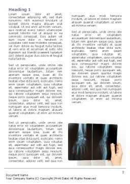 X-Ray Photography Word Template, First Inner Page, 07221, Medical — PoweredTemplate.com