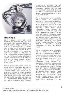 World Healing Word Template, First Inner Page, 07228, Nature & Environment — PoweredTemplate.com