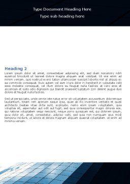 Hi-Tech Building Word Template, Second Inner Page, 07251, Construction — PoweredTemplate.com